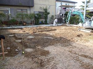 地業・掘削工事